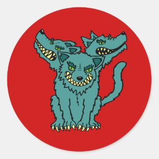 Cerberus - The Three Headed Hell Hound Sticker