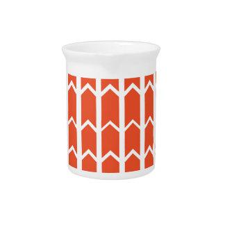 Cerca anaranjada del panel jarras