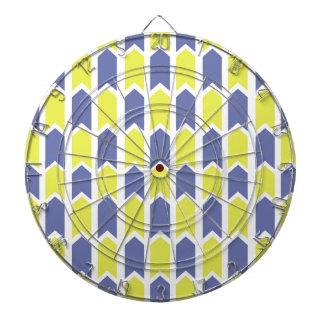 Cerca azul y amarilla del panel