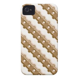 Cerca de carril - chocolate con leche y chocolate  Case-Mate iPhone 4 fundas