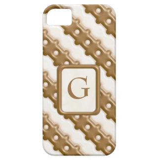 Cerca de carril - chocolate con leche y chocolate  iPhone 5 Case-Mate funda