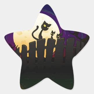 Cerca de Halloween Colcomanias Forma De Estrella
