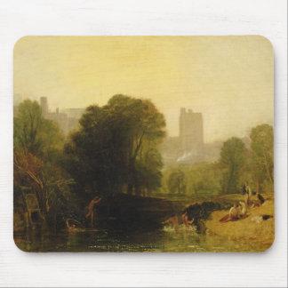 Cerca de la cerradura de Thames, Windsor, c.1809 Alfombrillas De Ratones