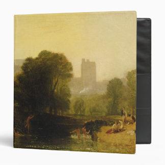 """Cerca de la cerradura de Thames, Windsor, c.1809 Carpeta 1 1/2"""""""