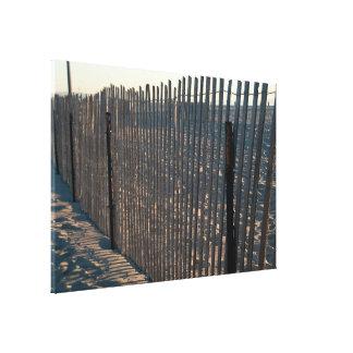 cerca de la playa impresión en lona estirada