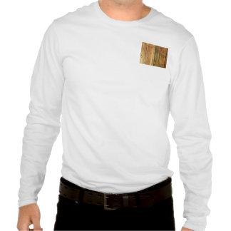 Cerca de madera camiseta