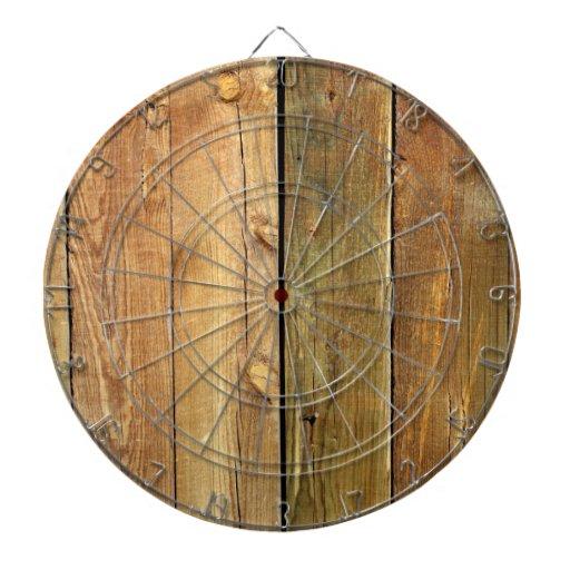 Cerca de madera tabla dardos