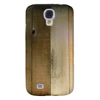 Cerca de madera vieja funda para galaxy s4
