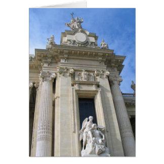 Cerca de Palais magnífico París Tarjeta De Felicitación