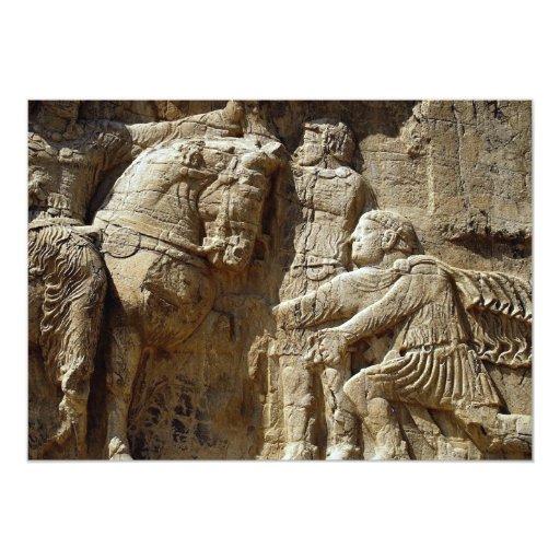 Cerca de Persopolis, Irán Invitación 12,7 X 17,8 Cm
