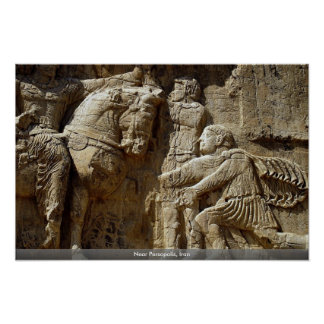 Cerca de Persopolis, Irán Poster