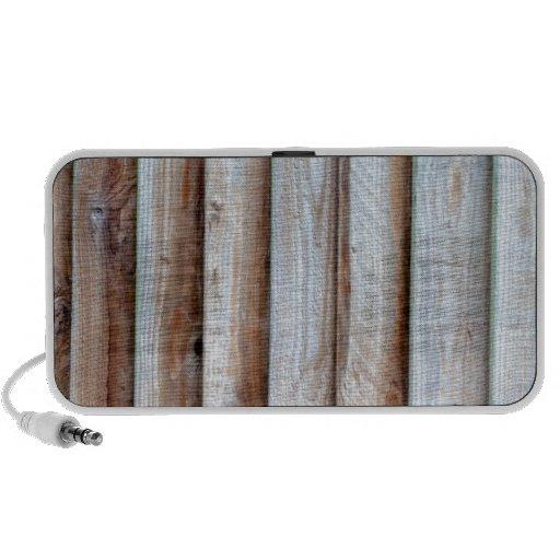 Cerca de rejilla de madera iPhone altavoces