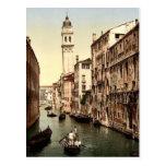 Cerca de San Jorge, obra clásica Photochro de Vene Postal