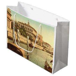 Cerca de St Mark, Venecia, Italia Bolsa De Regalo Grande