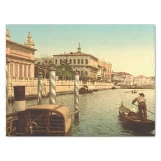 Cerca de St Mark, Venecia, Italia Papel De Seda Mediano