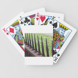 Cerca del moho baraja de cartas