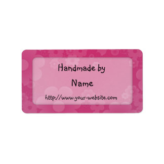 Cerca - etiqueta adaptable hecha a mano etiquetas de dirección