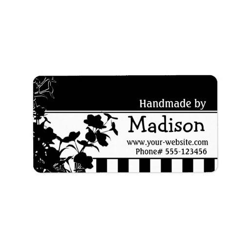 Cerca - etiquetas hechas a mano etiquetas de dirección