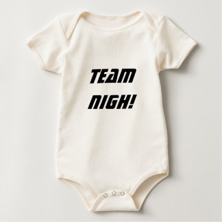 ¡Cerca horizonte - equipo cerca! Enredadera Mamelucos De Bebé