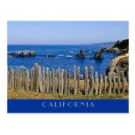 Cerca por el mar tarjetas postales