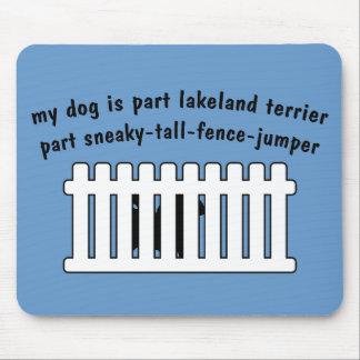 Cerca-Puente de la pieza de Lakeland Terrier de la Tapete De Ratones