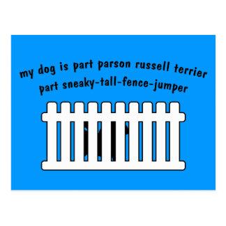 Cerca-Puente de la pieza de Russell Terrier del Postales