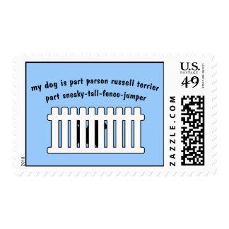 Cerca-Puente de la pieza de Russell Terrier del Sello