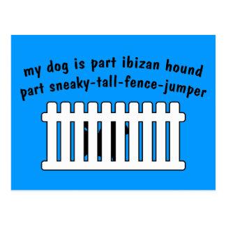 Cerca-Puente de la pieza del perro de Ibizan de la Postales