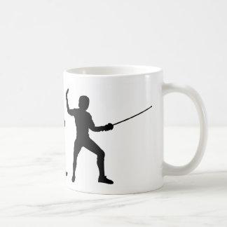 Cercado de la evolución tazas de café
