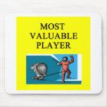 CERCADO de la mayoría del jugador valioso Alfombrilla De Ratones