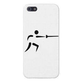 Cercado de símbolo iPhone 5 cárcasa