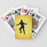 Cercador; Cercado; amarillo Baraja Cartas De Poker