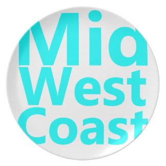 Cercano oeste Coast.png Plato De Comida