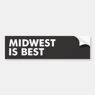 Cercano oeste es el mejor pegatina para auto