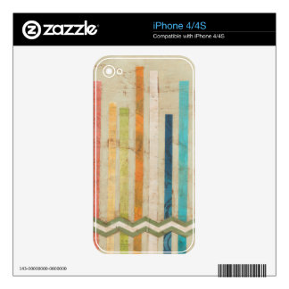cercas de papel 2-Up IV Skins Para eliPhone 4