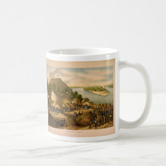 Cerco americano de guerra civil de Vicksburg en 18 Tazas