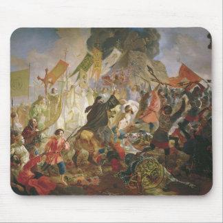 Cerco de Karl Bryullov- de Pskov del rey polaco Alfombrilla De Ratones