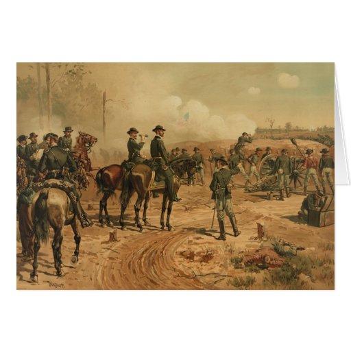 Cerco de la guerra civil de Atlanta de Thure de Th Tarjetas