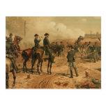 Cerco de la guerra civil de Atlanta de Thure de Th Tarjetas Postales