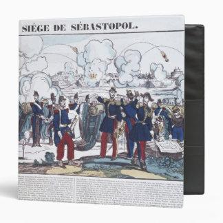 """Cerco de Sebastopol, 1854-55 Carpeta 1 1/2"""""""