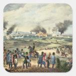 Cerco de Viena, el 28 de octubre de 1848 Pegatina Cuadrada