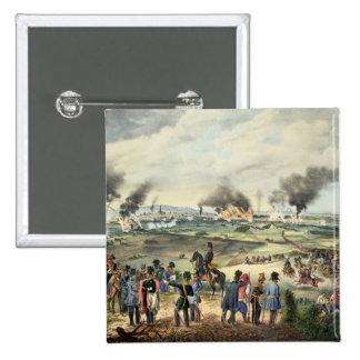 Cerco de Viena, el 28 de octubre de 1848 Pin Cuadrada 5 Cm