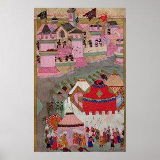 Cerco de Viena por Suleyman I el magnífico Posters