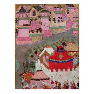 Cerco de Viena por Suleyman I el magnífico Postal