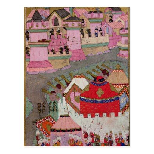 Cerco de Viena por Suleyman I el magnífico Tarjeta Postal