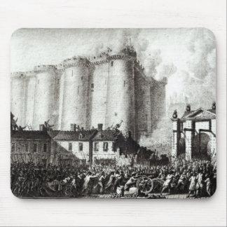 Cerco del Bastille, el 14 de julio de 1789 Alfombrillas De Ratón