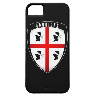 Cerdeña, escudo del escudo - iPhone (negro) Funda Para iPhone SE/5/5s