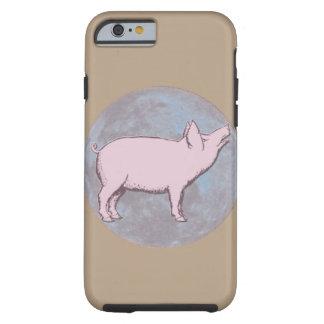 Cerdo afortunado el | funda de iPhone 6 tough
