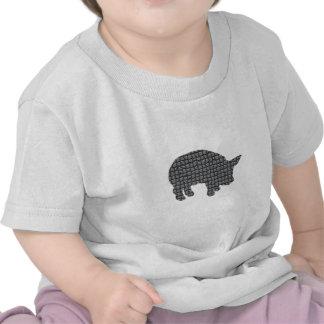 Cerdo bloqueado camiseta