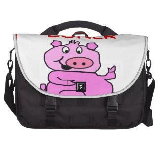 cerdo bolsa para ordenador